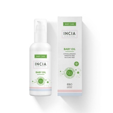 Incia Baby Care Baby Oil 110ml Renksiz